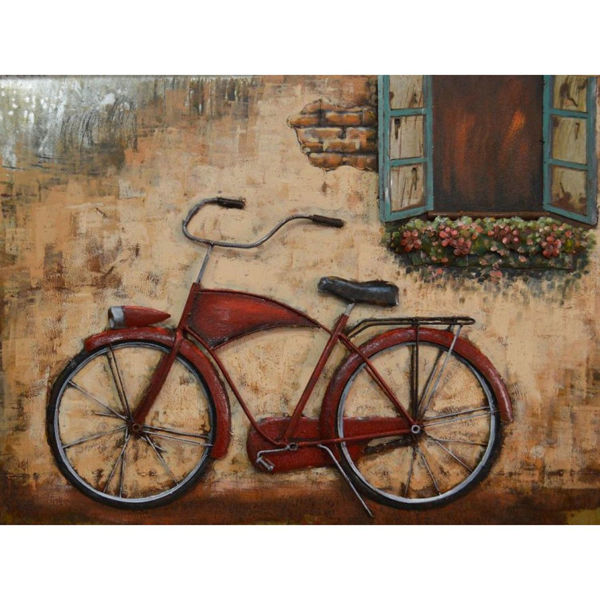Picture of Red Metal Bike