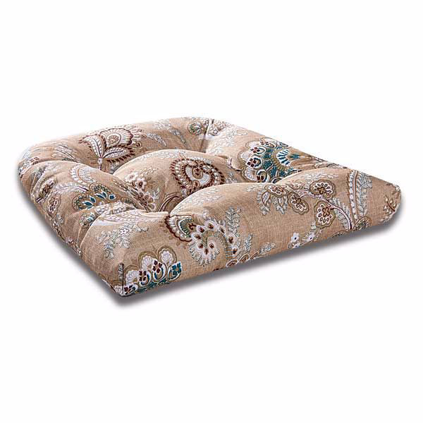 Picture of Single Cushion Vintage Grey Floral
