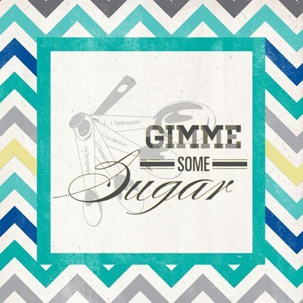 Picture of Set 2 Sugar Spread Canvas Giclee