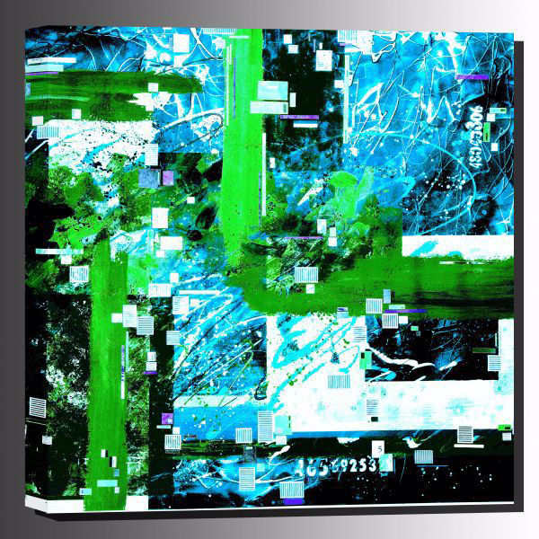 Picture of Numerology Outdoor Canvas 36x36