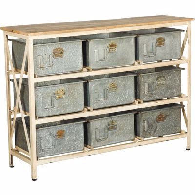 Picture of Vintage 9 Drawer Chest