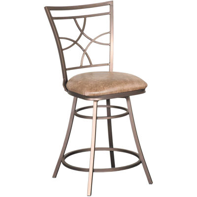 """Picture of Bel Air 24"""" Armless Swivel Barstool"""