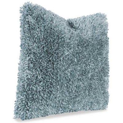 Picture of 22x22 Light Blue Fringe Pillow *P