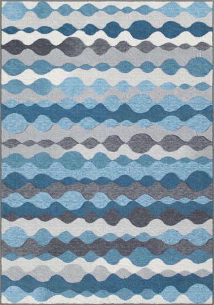 Picture of Horizons Graphite 5x7 Rug