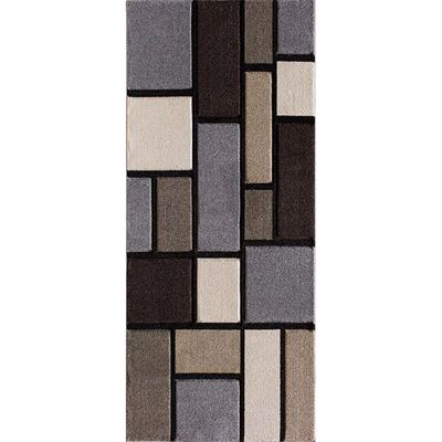 Picture of Pinnacle Alleman Bricks 2x7 Rug