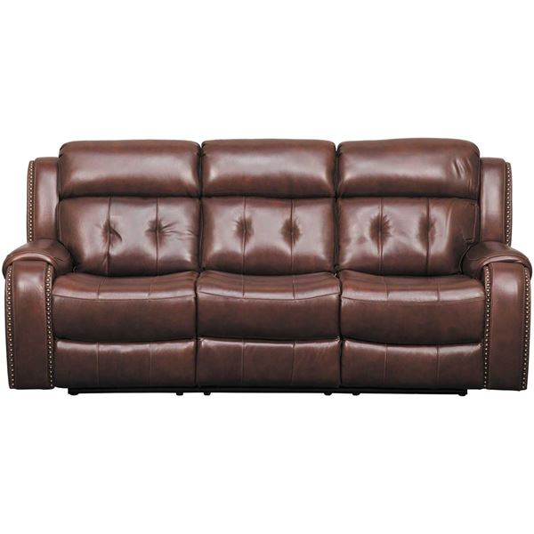 Picture of Owen Leather Power Reclining Sofa with Adjustable Headrest