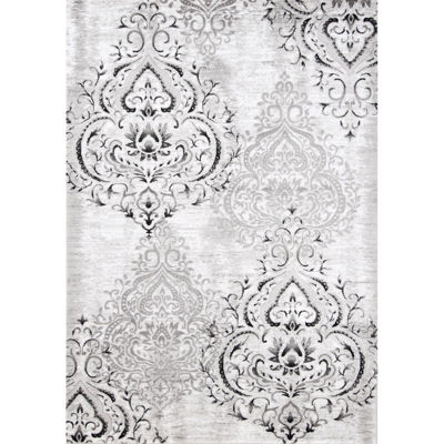 Picture of Platinum Grey Medallion 5x8 Rug