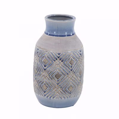 Picture of Blue Ivory Vase