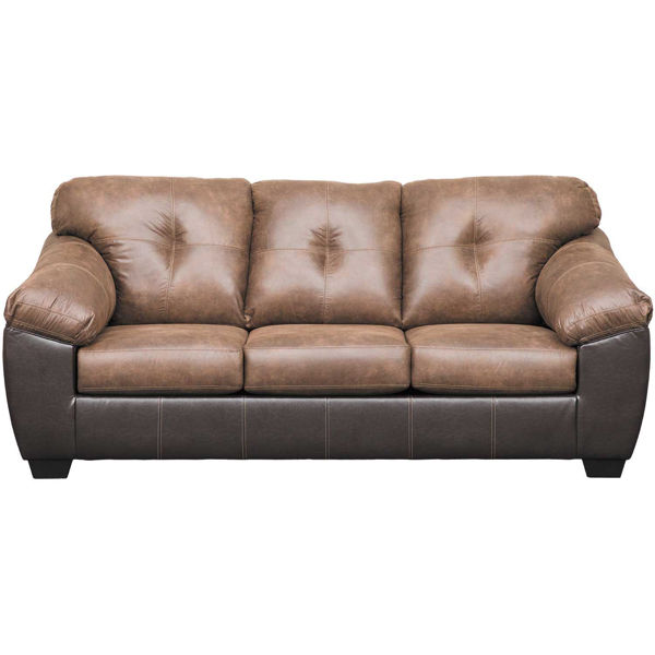 Picture of Gregale Coffee Two-Tone Sofa