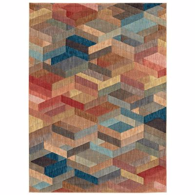 Picture of Ignite Multi Geo 8x11 Rug