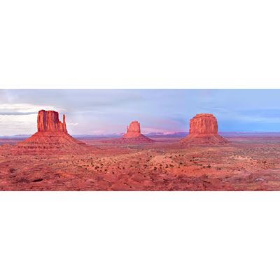 Monument Valley Twilight 60x20
