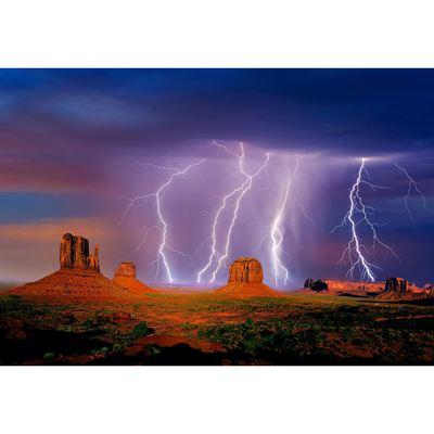 Monumental Storm 32x48