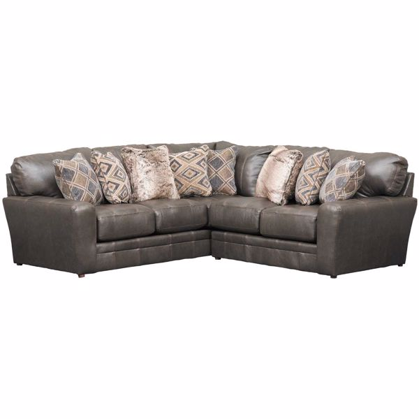 Picture of Denali 2 Piece Italian Leather Sectional with RAF Loveseat