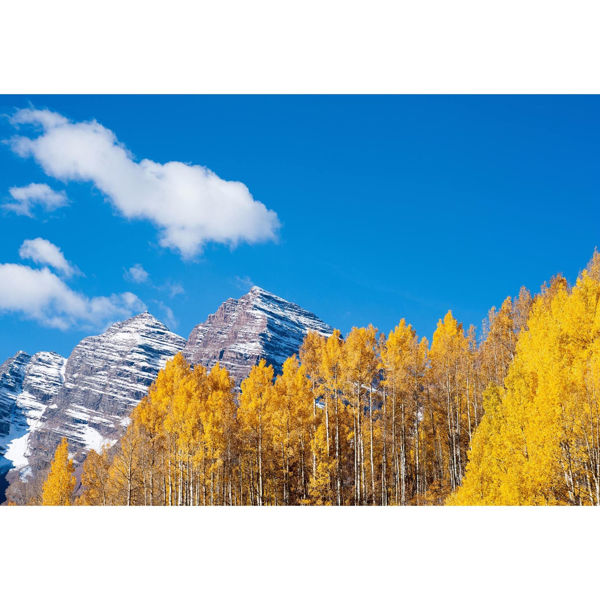 Maroon Bells In Autumn 32x48