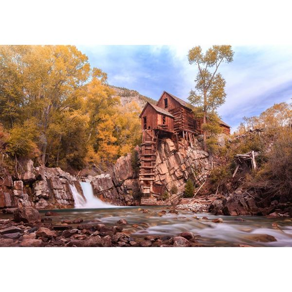 The Old Crystal Mill 24x36
