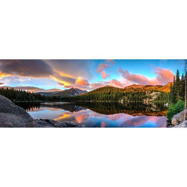 Bear Lake Sunrise 60x20