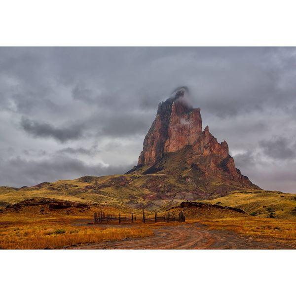 Rainy Agathla Peak 32x48