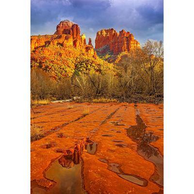 Cathedral Rocks Sedona AZ 32x48