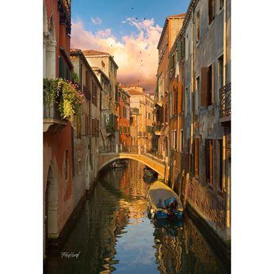 Ponte De Malpaga Venice Italy 32x48