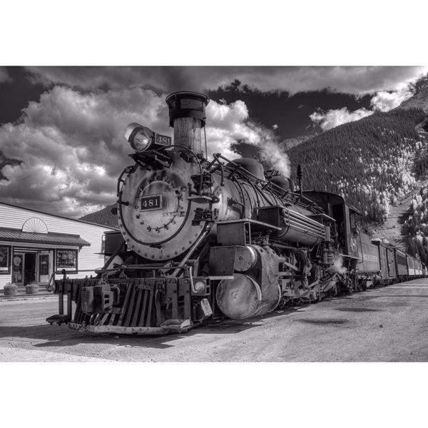 Durango To Silverton End Of The Line 36x24