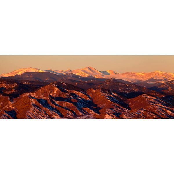 Rockies Alpine Glow 60x20