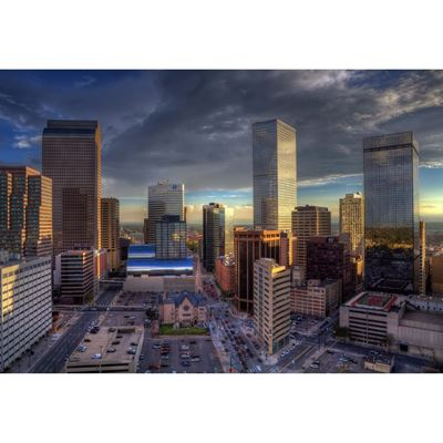 Downtown Denver Evening 48x32