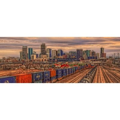 Denver Train Yard 36x12