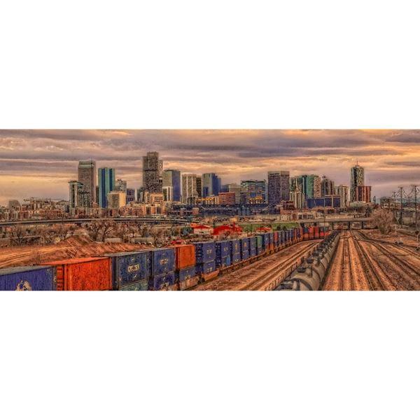 Denver Train Yard 36x12