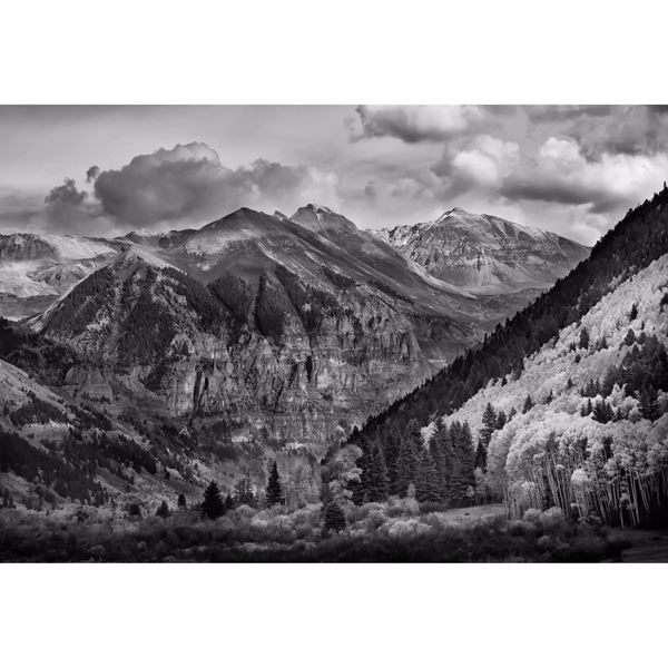 Telluride Valley at Fall 48x32
