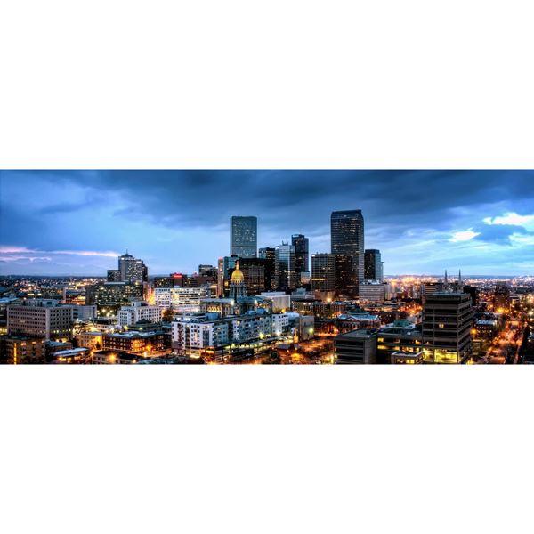 Denver Dusk 60X20