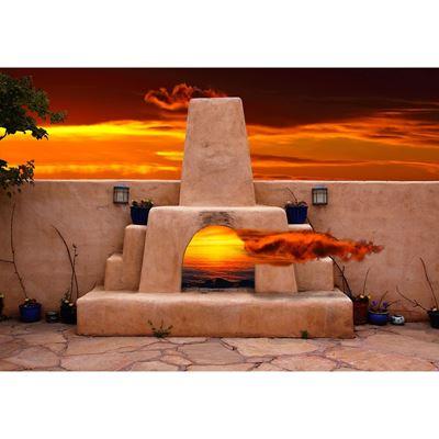 Santa Fe Kiva 36x24