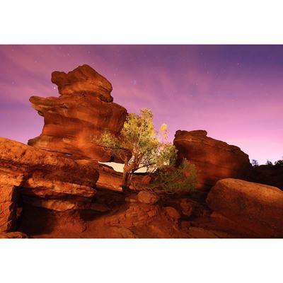 Red Rock Glow 48x32