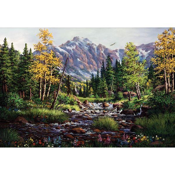 Springtime Rockies 48X32