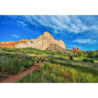 Garden of the Gods Trail 36x24