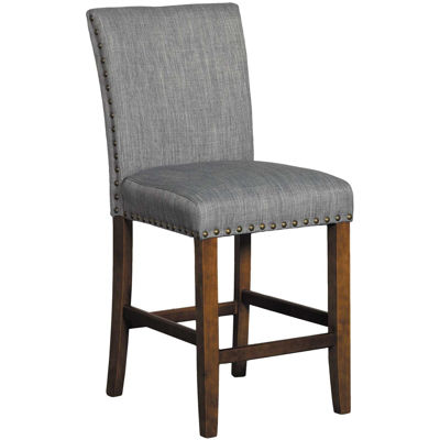 "Picture of Grey Linen 24"" Barstool"