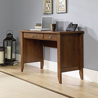 Picture of Shoal Creek Computer Desk Oiled Oak * D