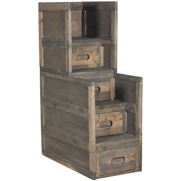 Picture of Cheyenne Driftwood Stairway Chest