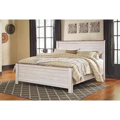Picture of Willowtown California King Panel Bed