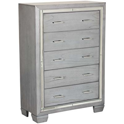Picture of Titanium 5 Drawer Chest