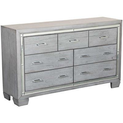 Picture of Titanium 7 Drawer Dresser