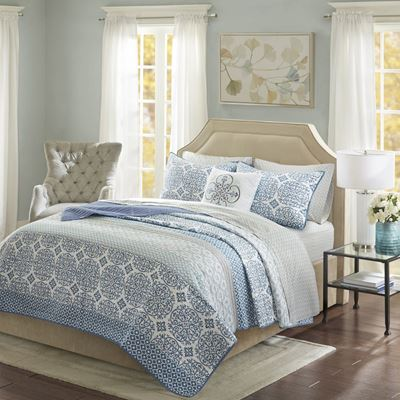 Picture of Sybil Queen Coverlet and Sheet Set