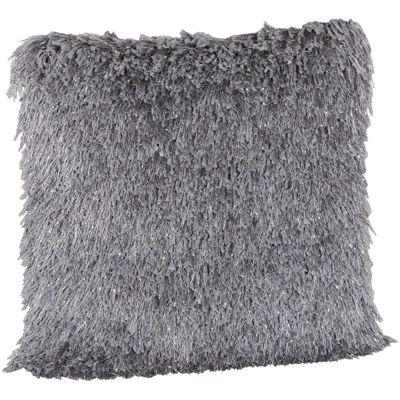 Picture of 20X20-Decorative Pillow Sparkle Shag Grey