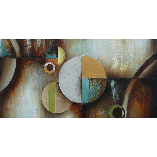 Picture of Circles And Spheres 30x60 Canvas