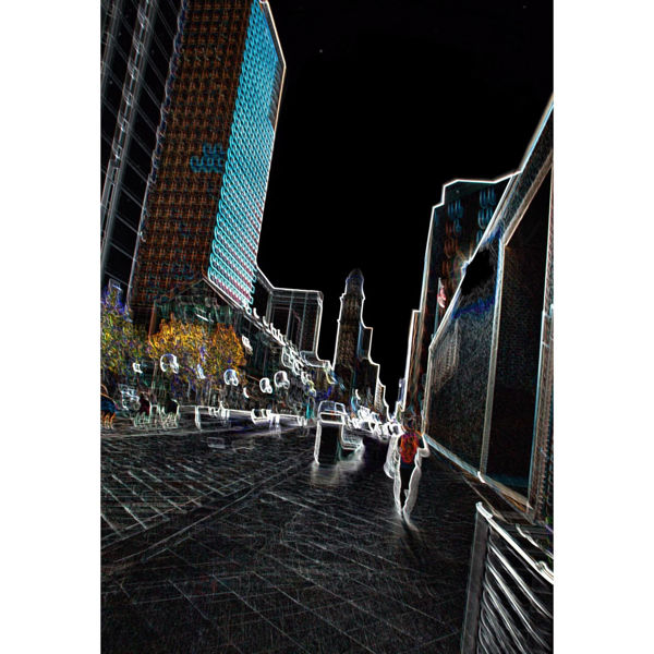 Picture of Denver Neon Collection 01153 24x36 *D