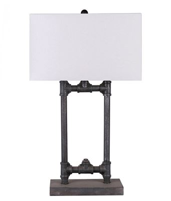 Picture of Metal Pipe Table Lamp