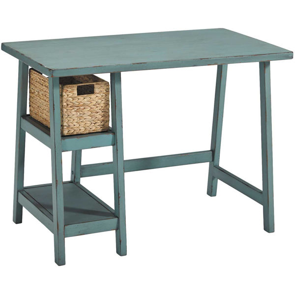 Picture of Mirimyn Small Desk in Teal