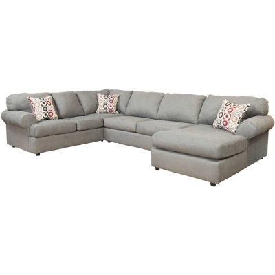 Picture of Jayceon 3 Piece Steel Sectional with RAF Chaise