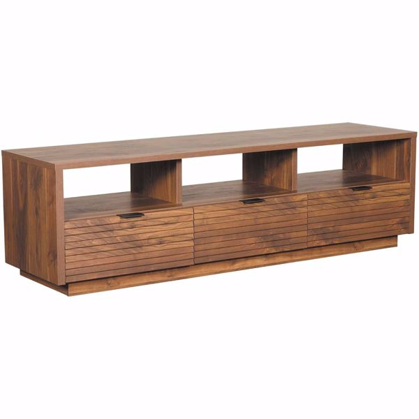 Picture of Harvey Park Entertainment Credenza Grand Walnut