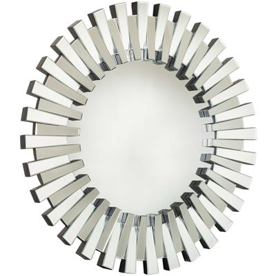 Picture of Modern Round Glass Mirror