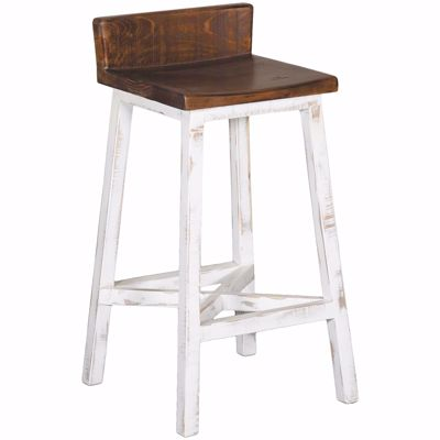 "Picture of Pueblo White 30"" Barstool"